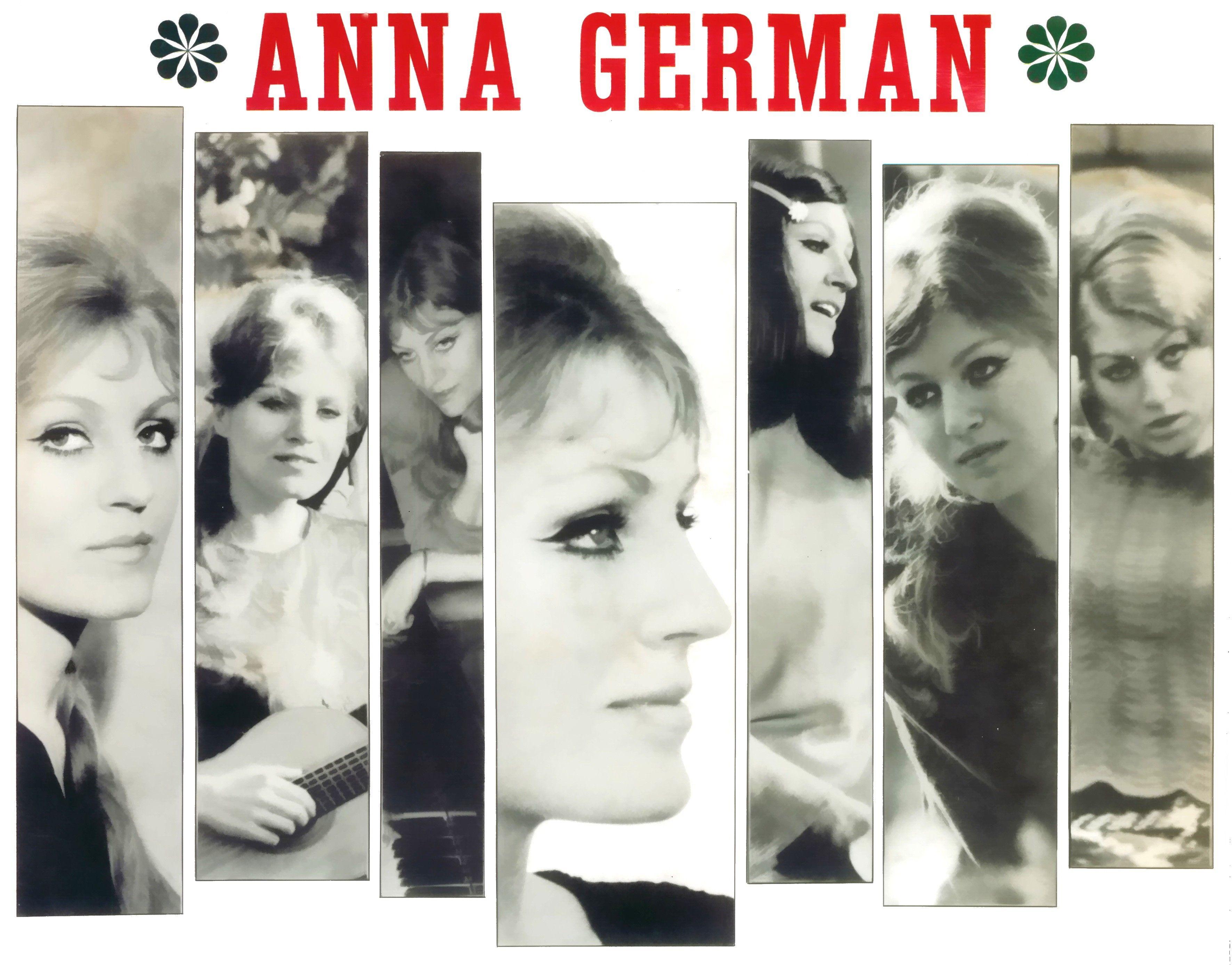 Обложка пластинки с песнями Анны Герман