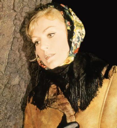 Анна Герман. Вечерняя фото-сессия певицы