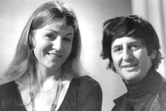 Анна Герман с Александром Жигаревым