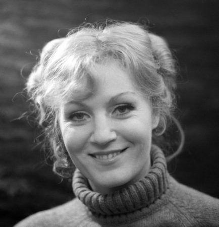 Анна Герман, - снимок конца 70-х прошлого века