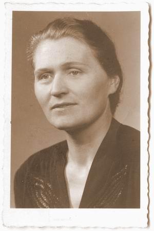 Ирма Мартенс, мать Анны Герман
