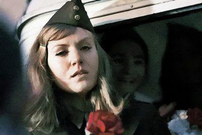 Анна Герман в роли американки
