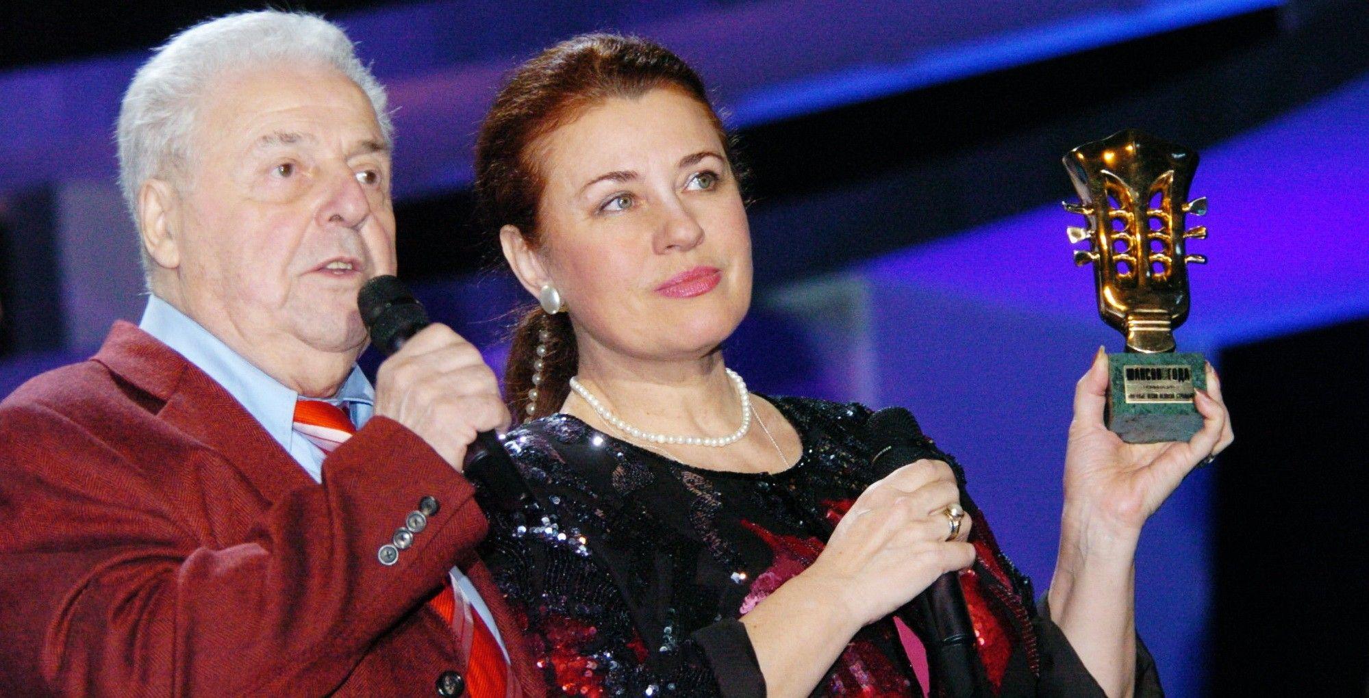 Валентина Толкунова и Михаил Танич