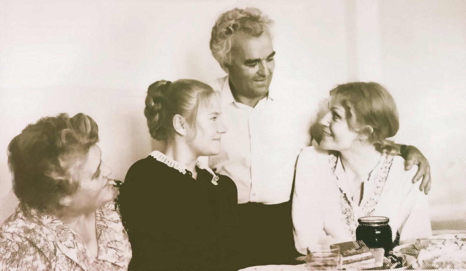 Анна Герман в гостях у своих родственников в Целинограде
