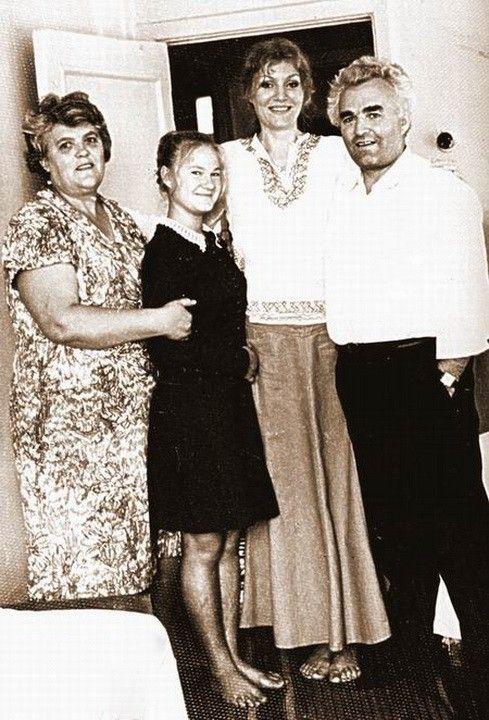 Анна Герман в Целинограде в гостях у своих родственников