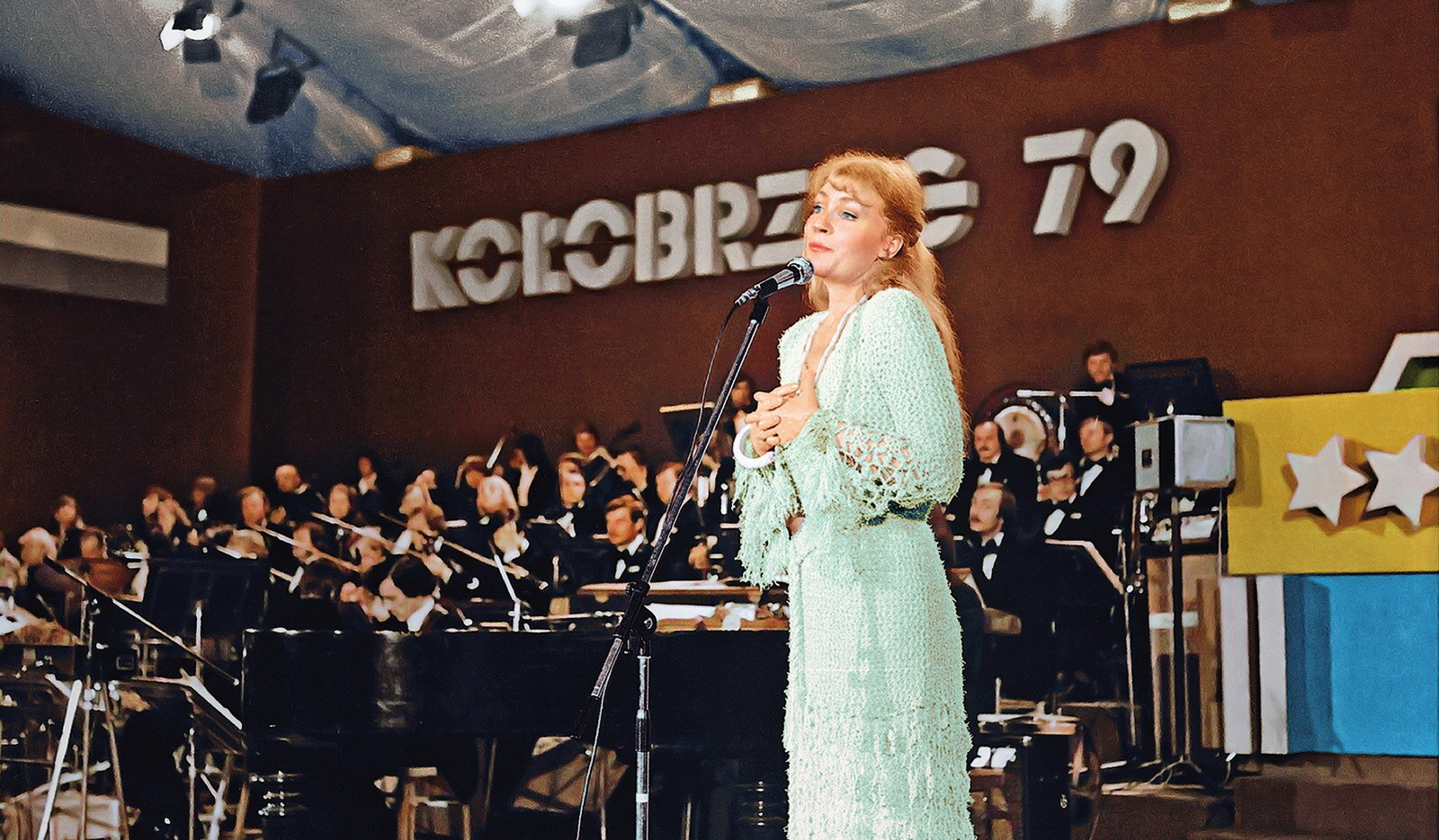 Колобжег, Польша, 1979 год. Одно из последних выступлений Анны Герман в Польше.