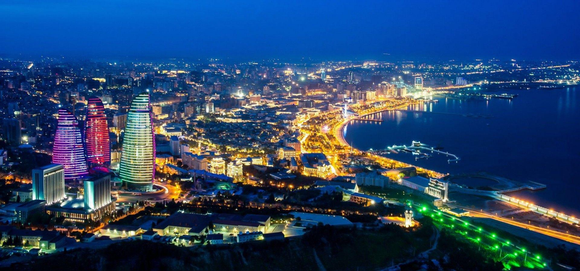 Древний Баку. Знаменитая набережная города
