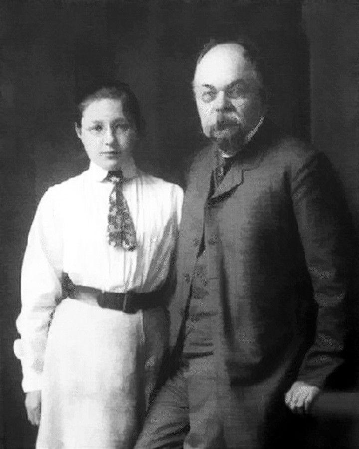 Отец и мать Анастасии Цветаевой