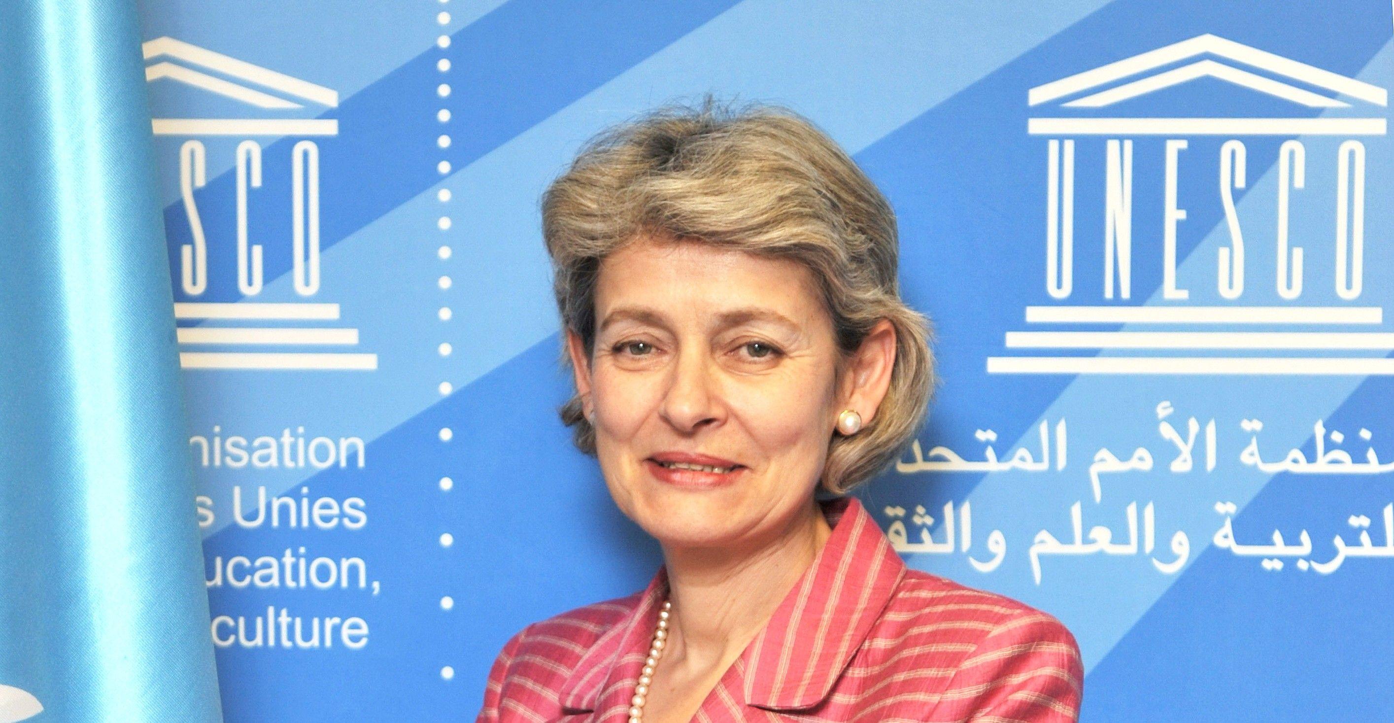ЮНЕСКО высоко оценила Анну Герман! Ирина Бокова, генеральный директор ЮНЕСКО