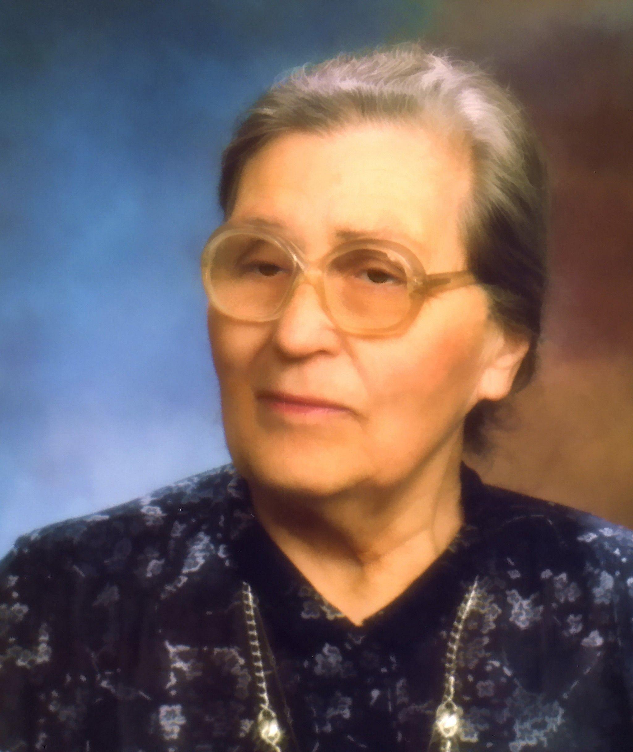 Ирма Мартенс-Герман, мать Анны Герман.