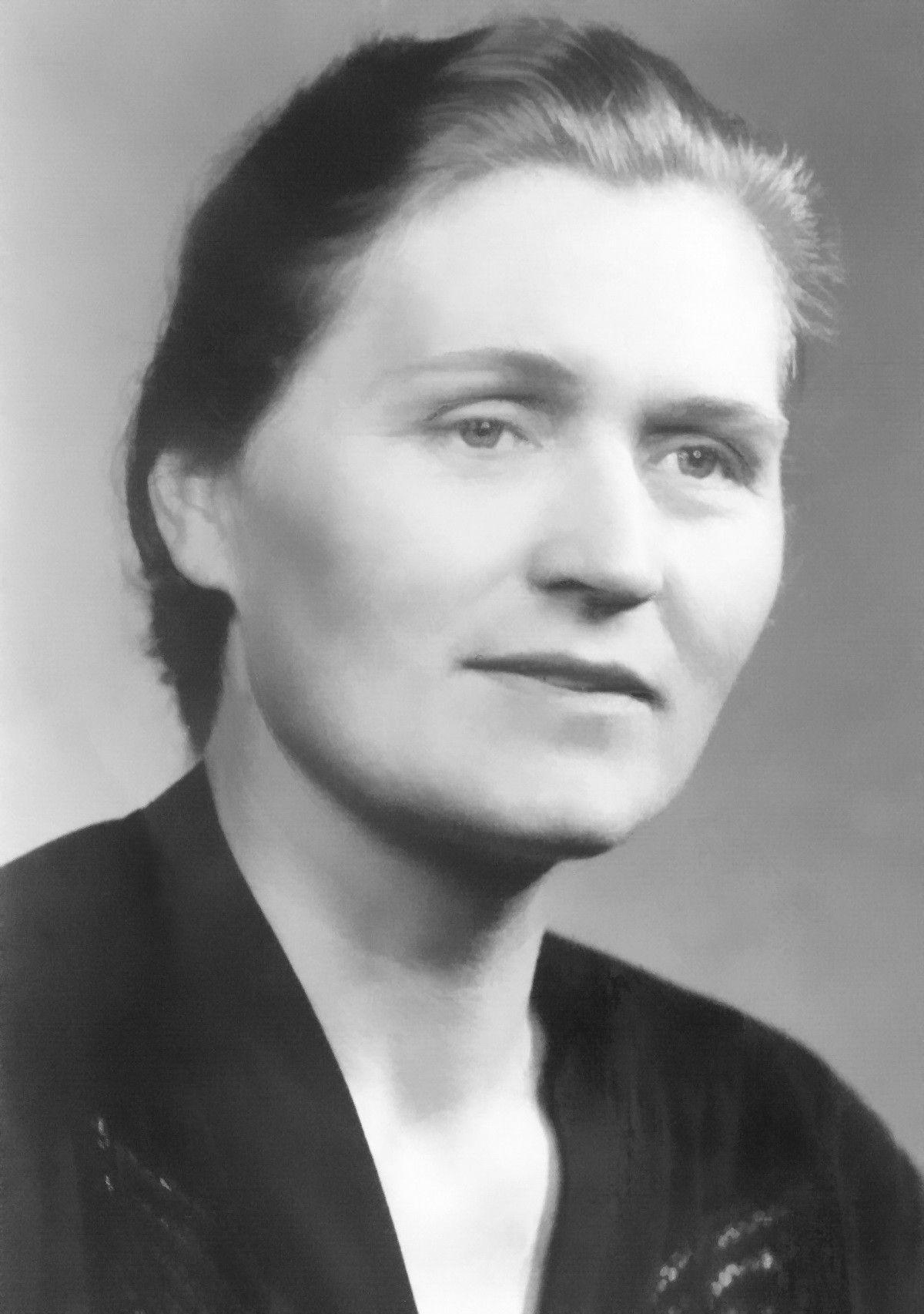 Ирма Мартенс-Герман, мать Анны Герман